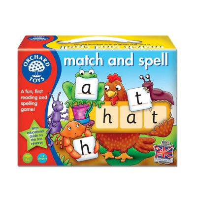 Orchard Toys, Match And Spell